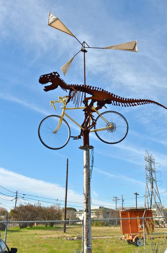 dinoscene sculpture texas
